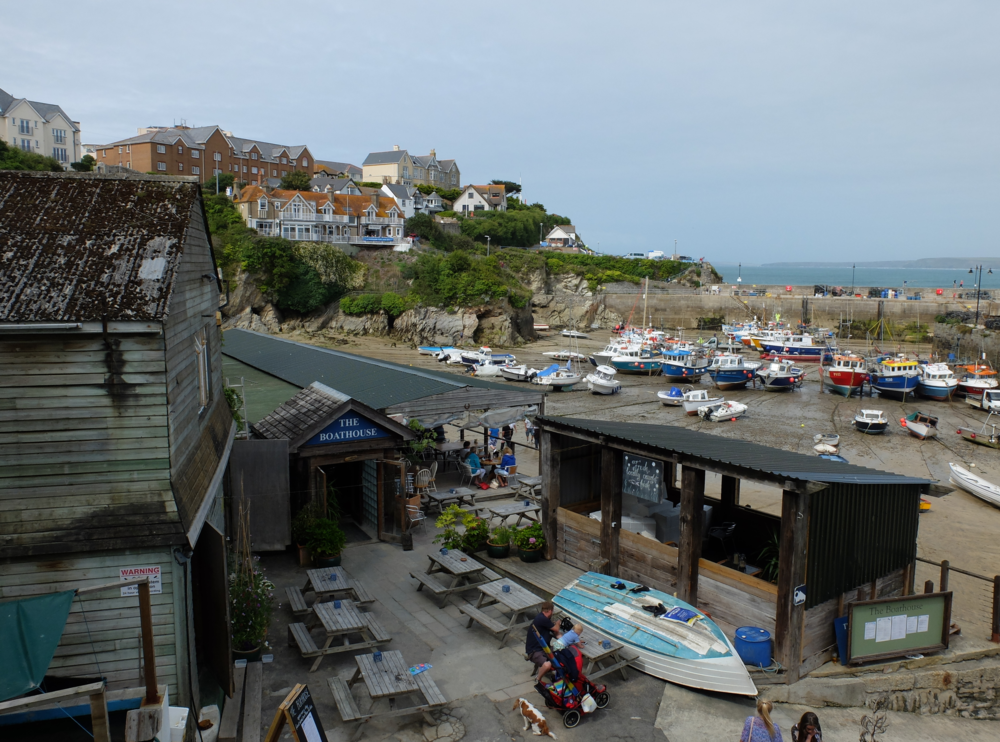 hello getaway, england, cornwall, newquay, the boathouse