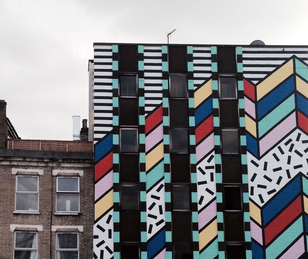 london shoreditch camille walala  hello getaway city guide london