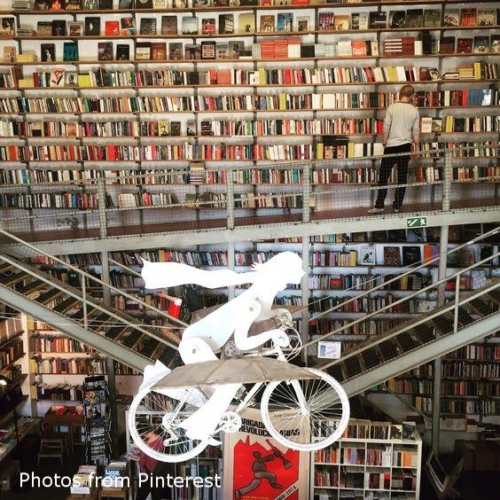 LX Factory bookshop Lisbon shopping cityguide hellogetaway