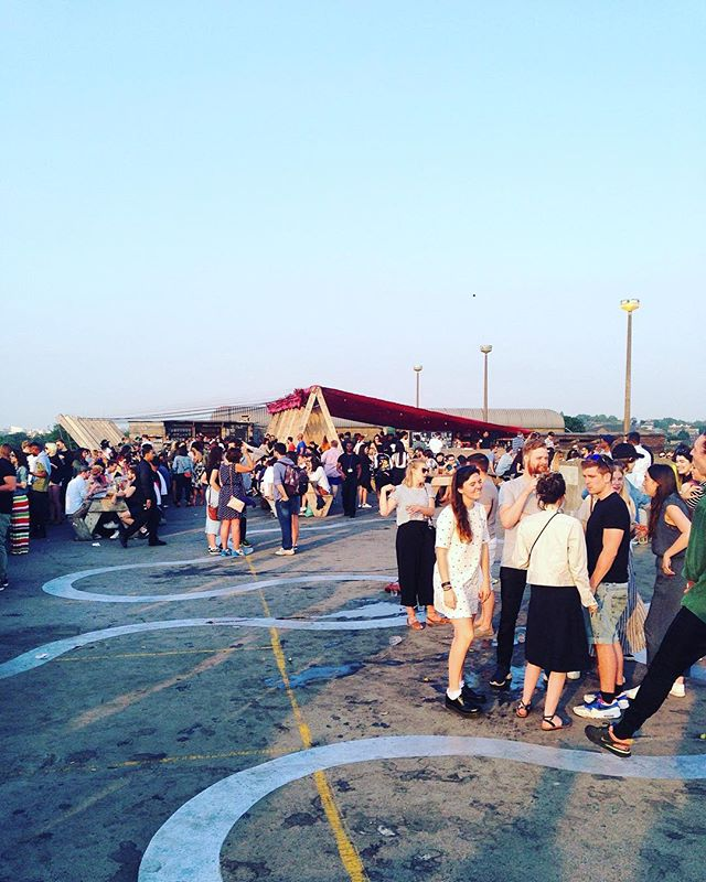 ✨Summer vibes✨ @frankspeckham #london #peckham #frankscafe #rooftopbar #summertime