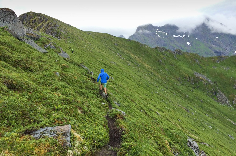 Unstad trailrun lofoten norway