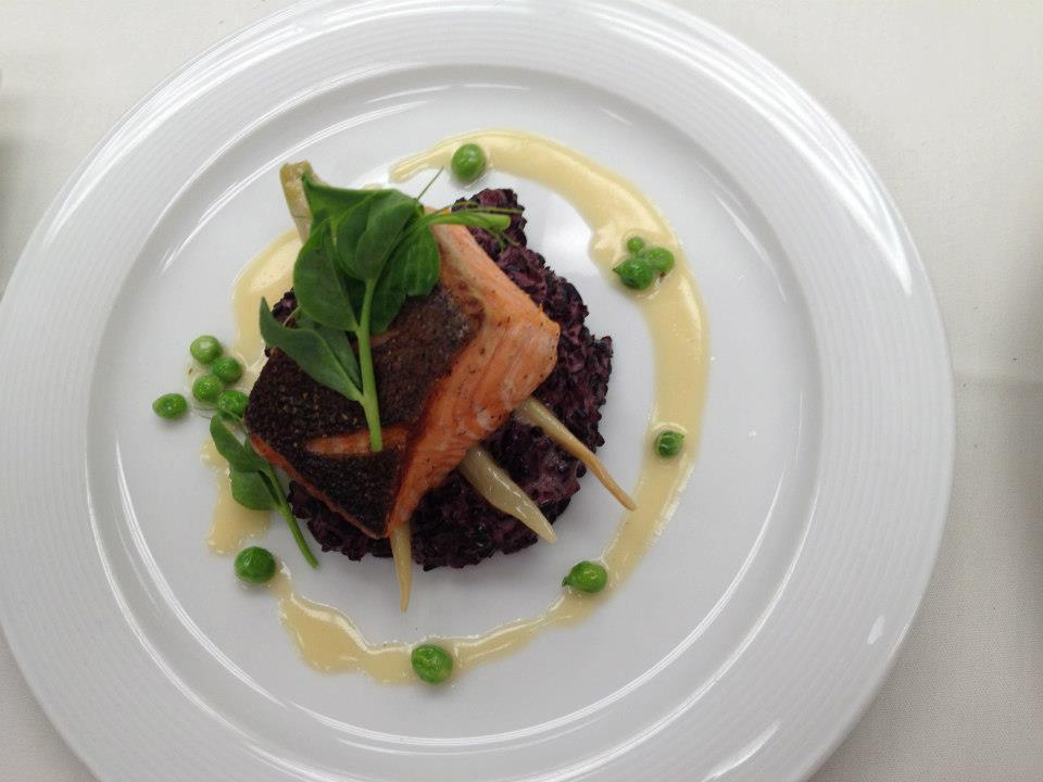 Tasmanian Salmon, Coconut Rice