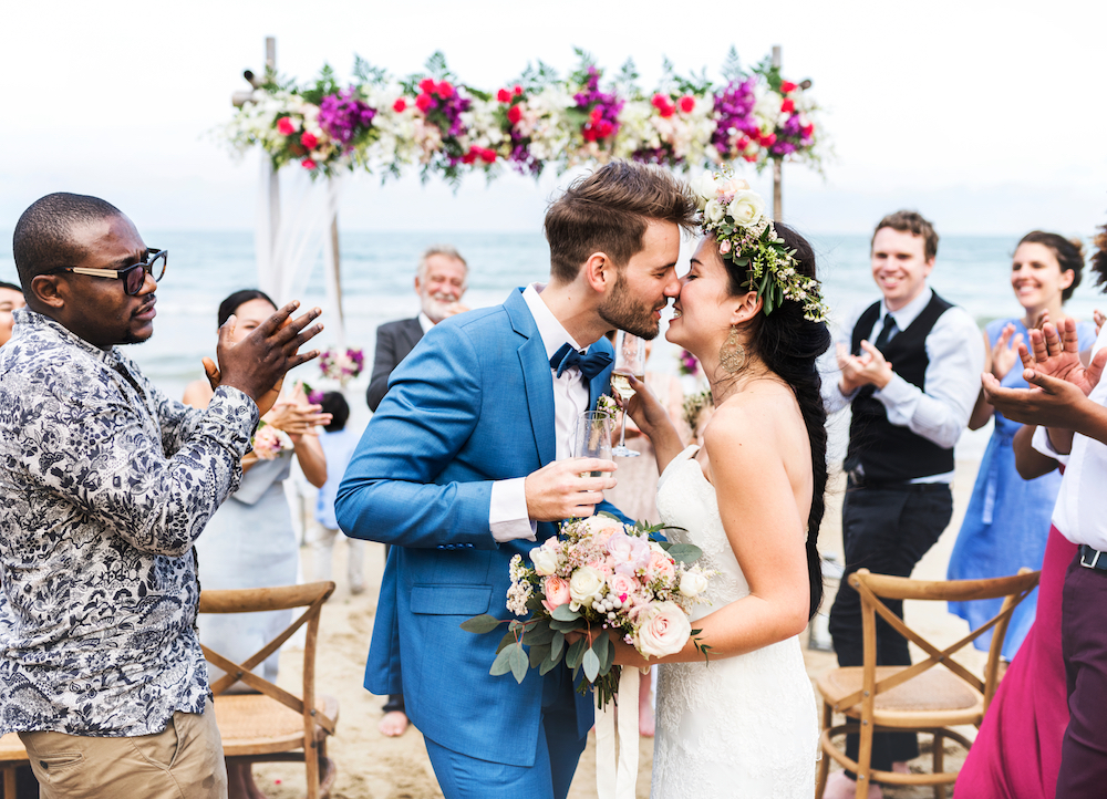 Vibrant Beach Wedding Package