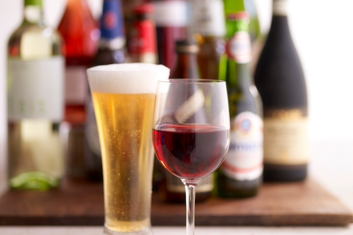 TRAY PASSED BEER & WINE EVENT - white wine, beer, water, rentals, staff