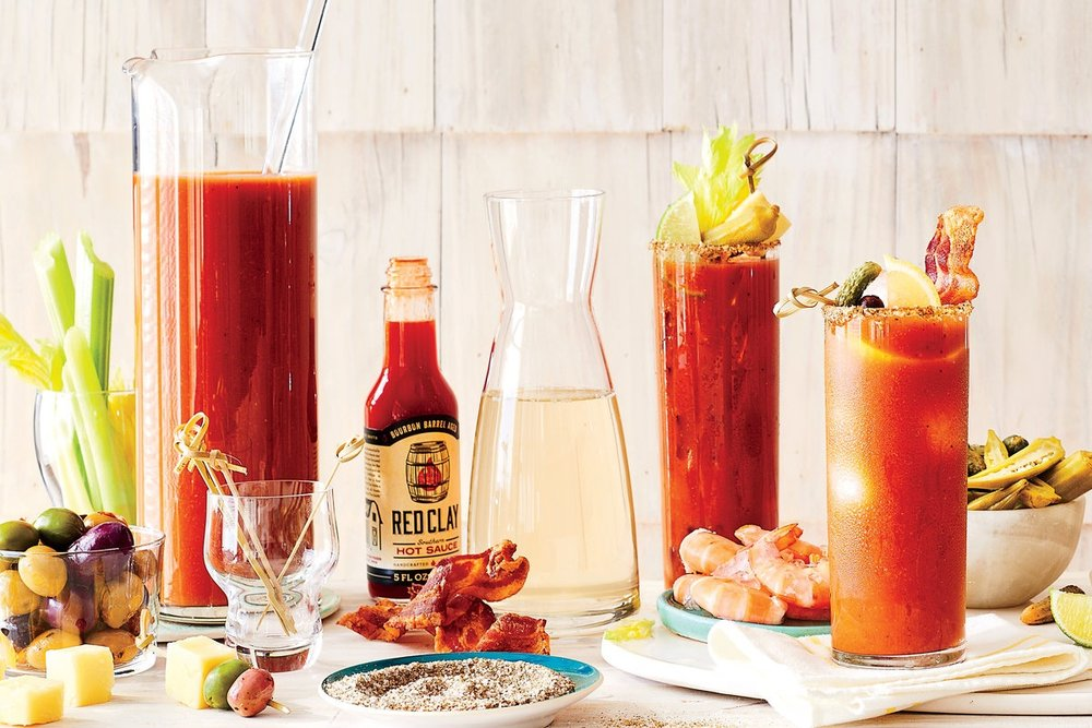 BYO BLOODY MARY BAR - sensible alcohol, self-serve bloody marry station, staff
