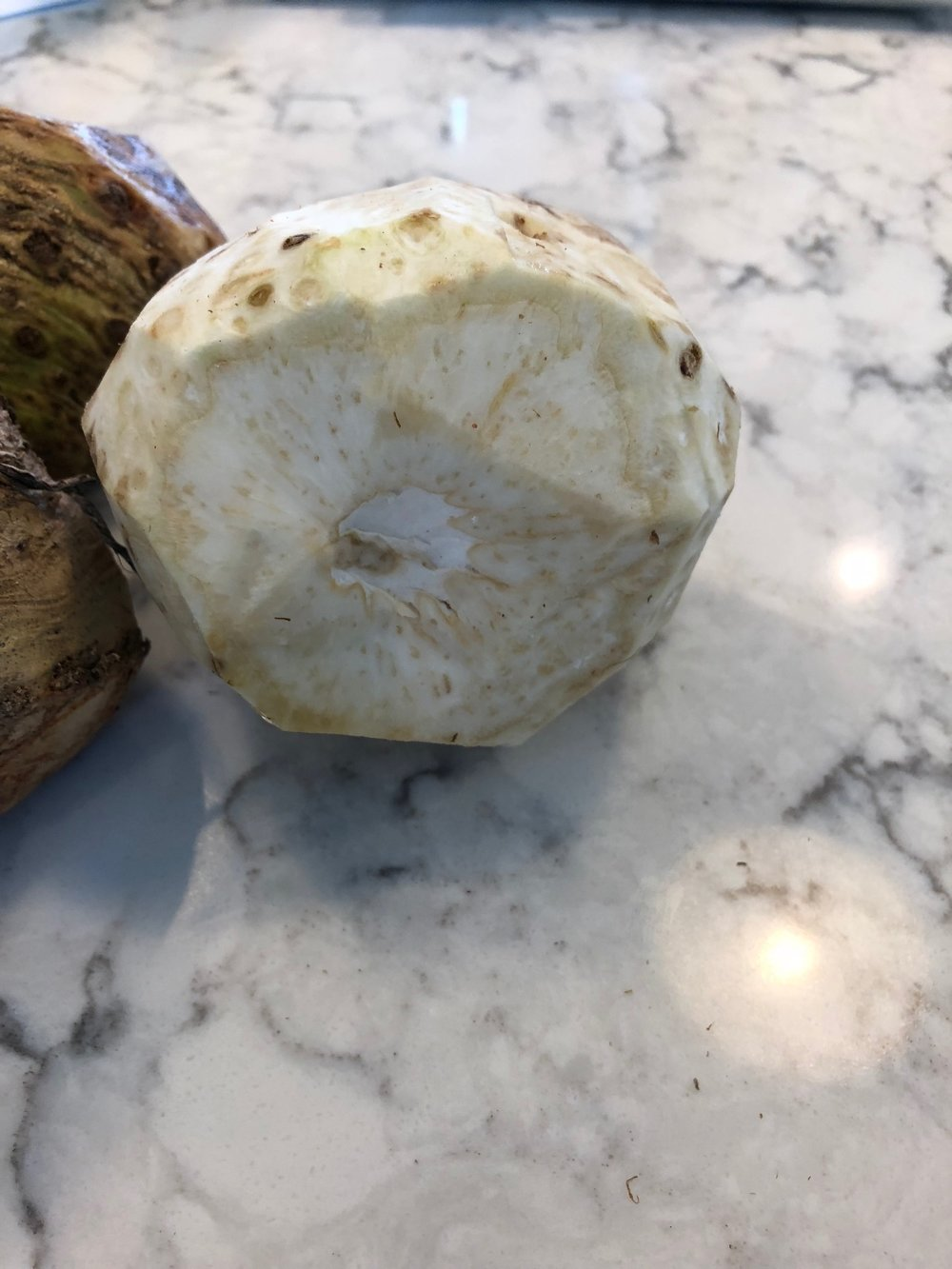 Peeled Celery Root