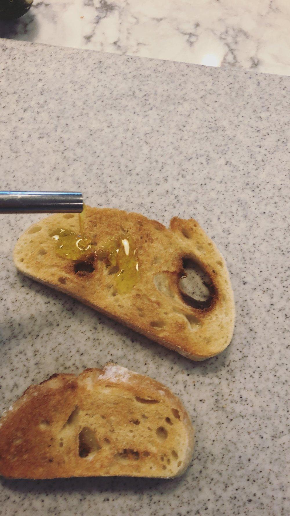 EVOO on Toast