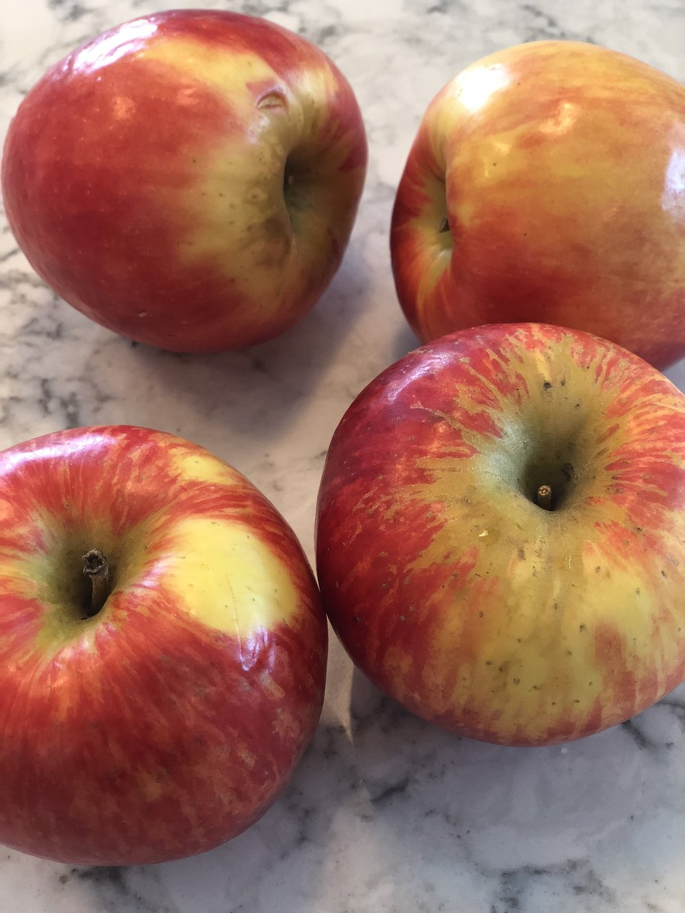 Honeycrisp, the best apple there it…in my opinion. :)