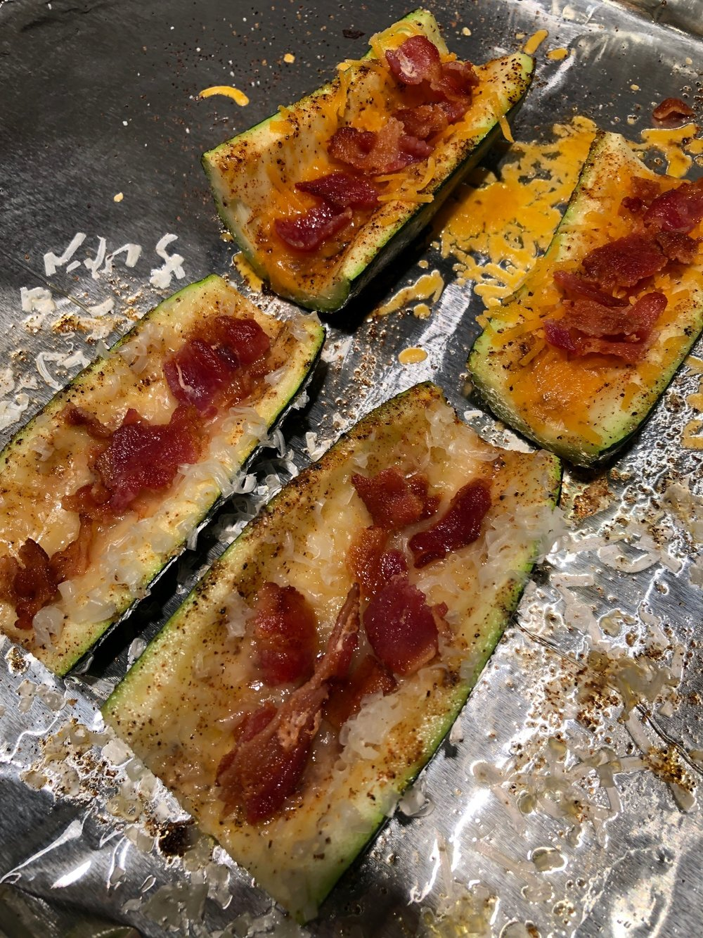 Step 3 - Add cheese and bacon then bake for another 5 minutes