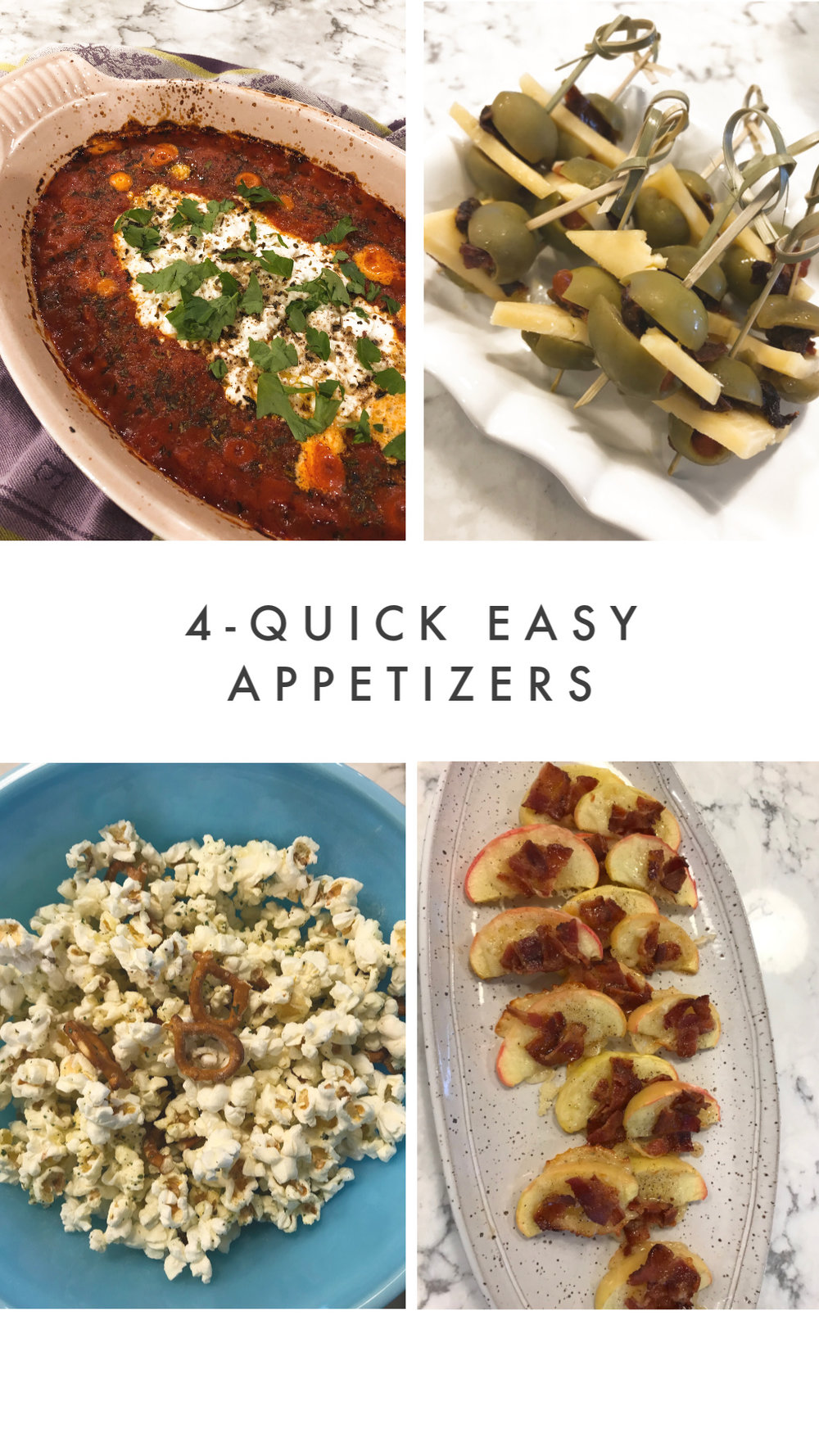 Quick and Easy appetizers