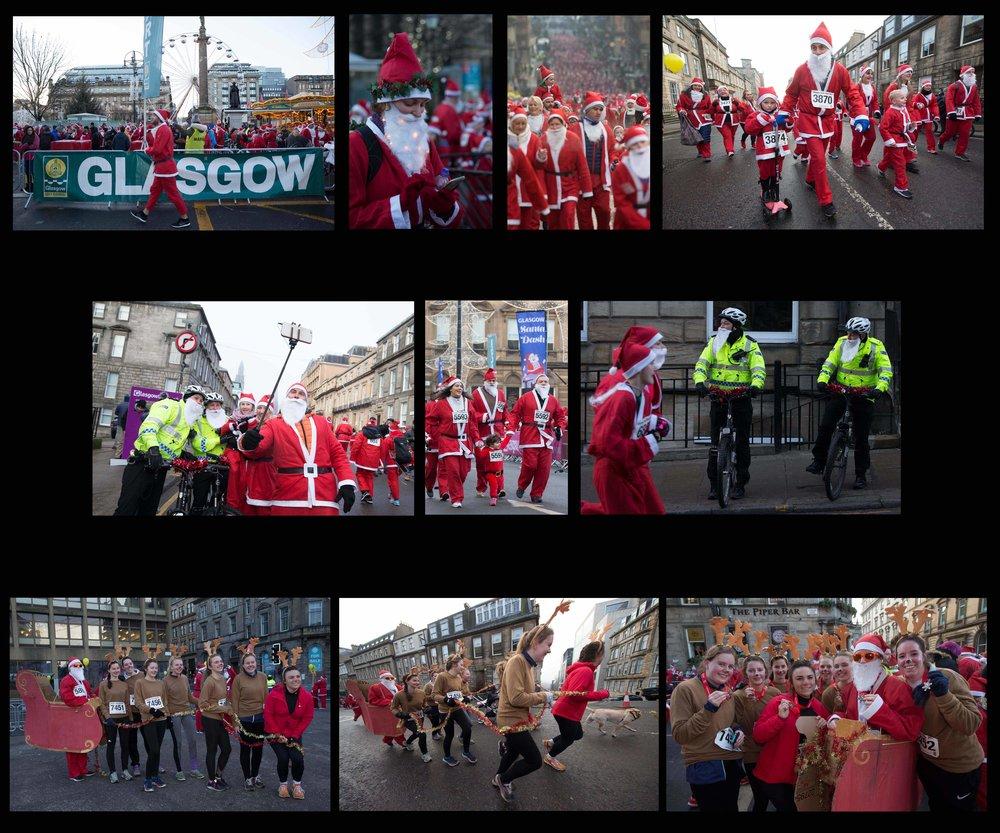 REPORTAGE - Glasgow Santa Dash.jpg