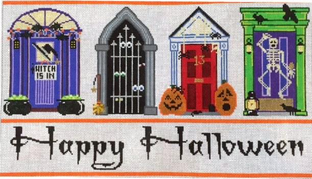 Halloween Doors 14 x 8; 18 mesh; $200