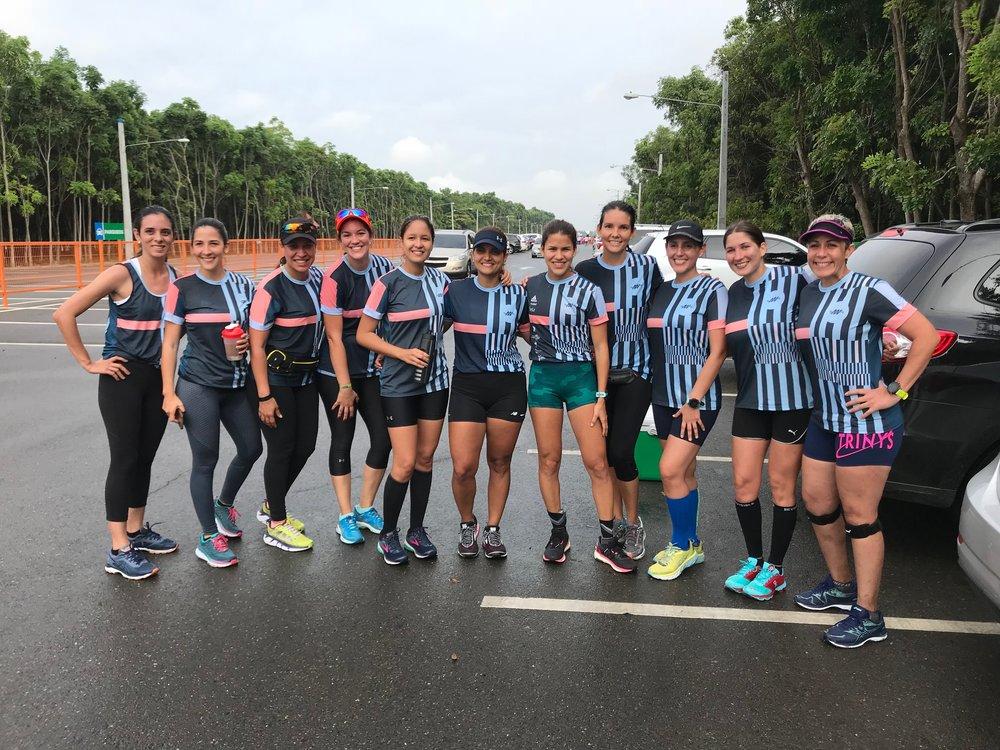 CORRIDA DE INTEGRACION: - El pasado 5 de Mayo, gran parte de nuestros atletas corrimos 13km.