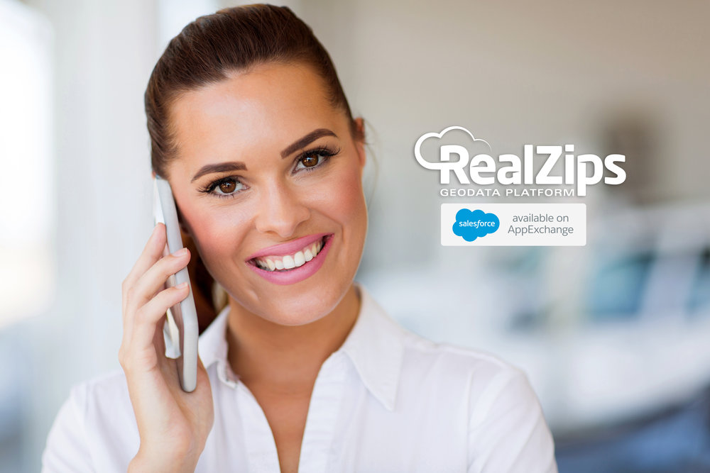The RealZips app is simply designed to empower salespeople to be at the right place, talking to the right customers, at the right time.