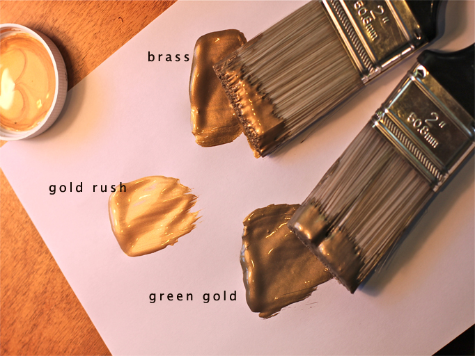 In DIY, Paint Tags Metallic ...