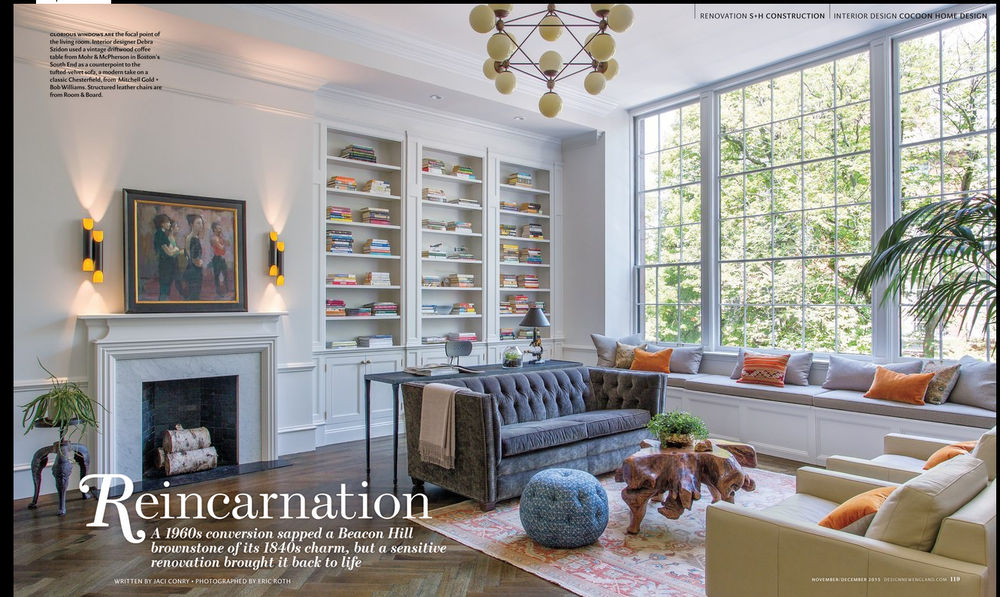 PRESS Cocoon Home Featured In Design New England Magazine COCOON HOME