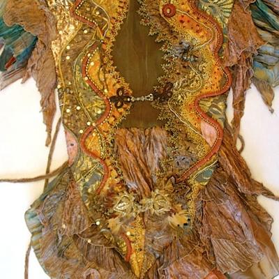 Harvest Gown Vest-1993