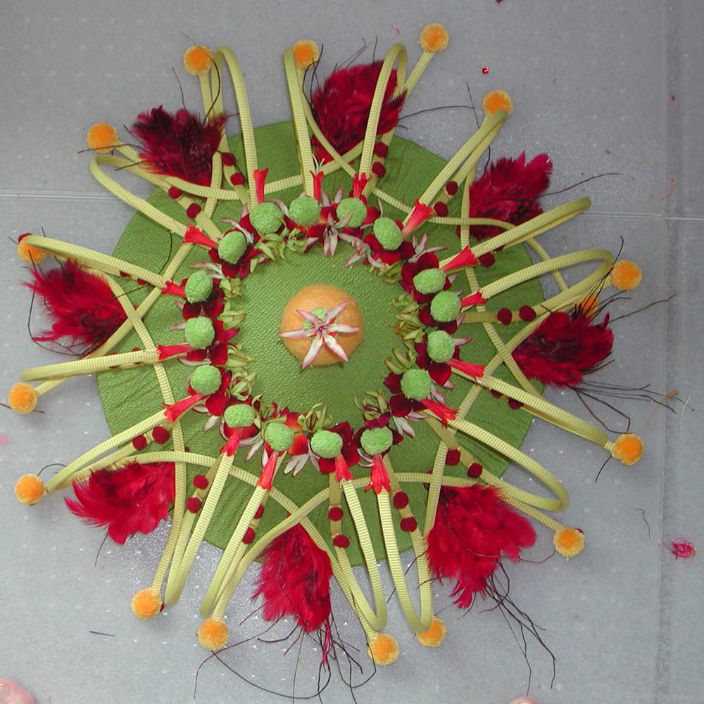 Fantasia Fleur du Soleil-hat