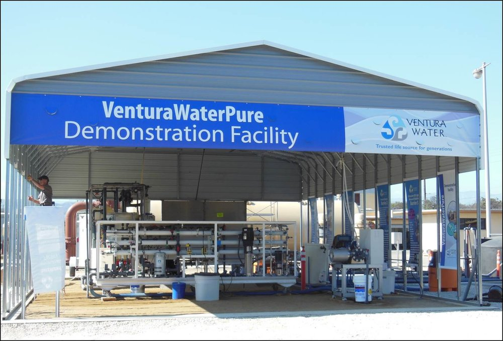DPR education station with Ventura Water
