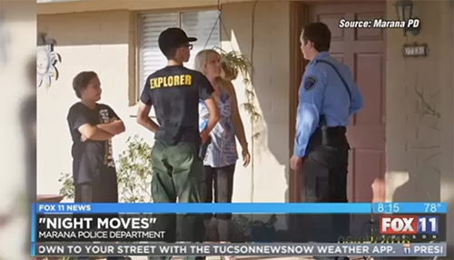 Tucson News Now Marana Police Helping Teens Learn What It Takes To