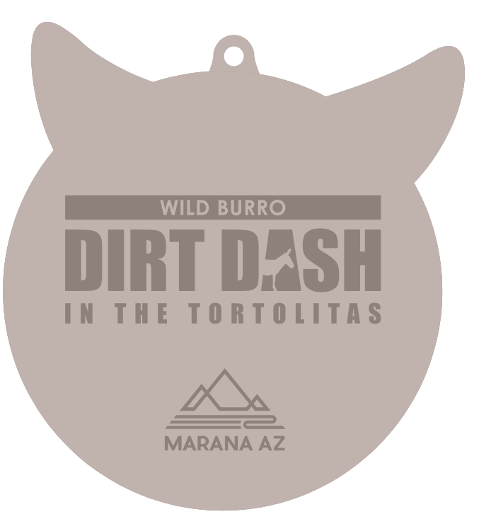 DIRT DASH MEDALS