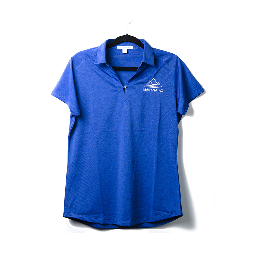 Women's Port Authority Ladies Digi Heather Performance Polo A subtle pixelated pattern gives this snag-resistant, moisture-wicking polo a look that's sophisticated enough for the office or the weekend. Created for comfort and performance, this modern polo is also a smart value.