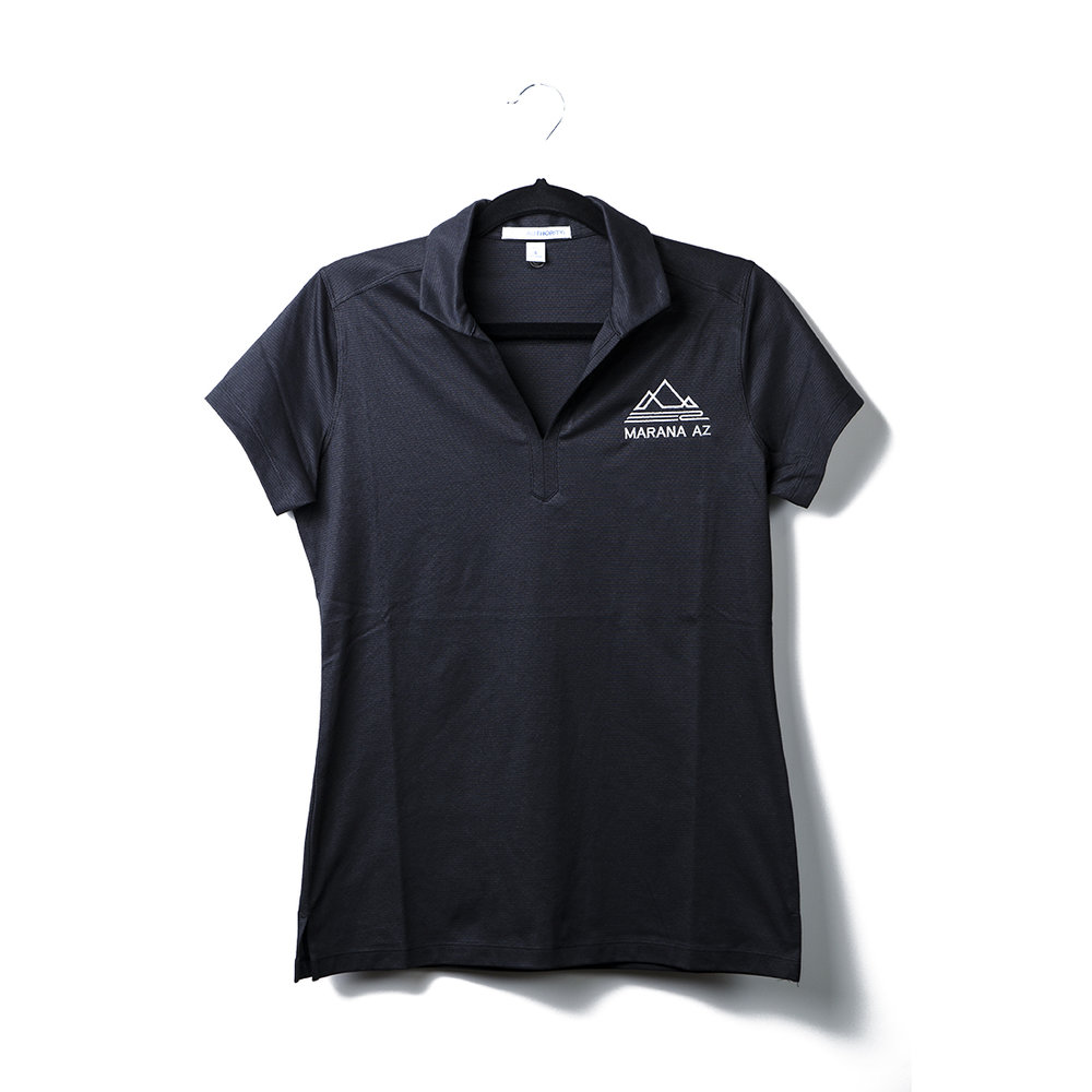Women's Port Authority Ladies Rapid Dry Mesh Polo   Upgrade your office look with a polo that combines a cottony feel and smooth Rapid Dry moisture-wicking mesh. With subtle texture and breathable performance, this polo is a modern, comfortable choice.