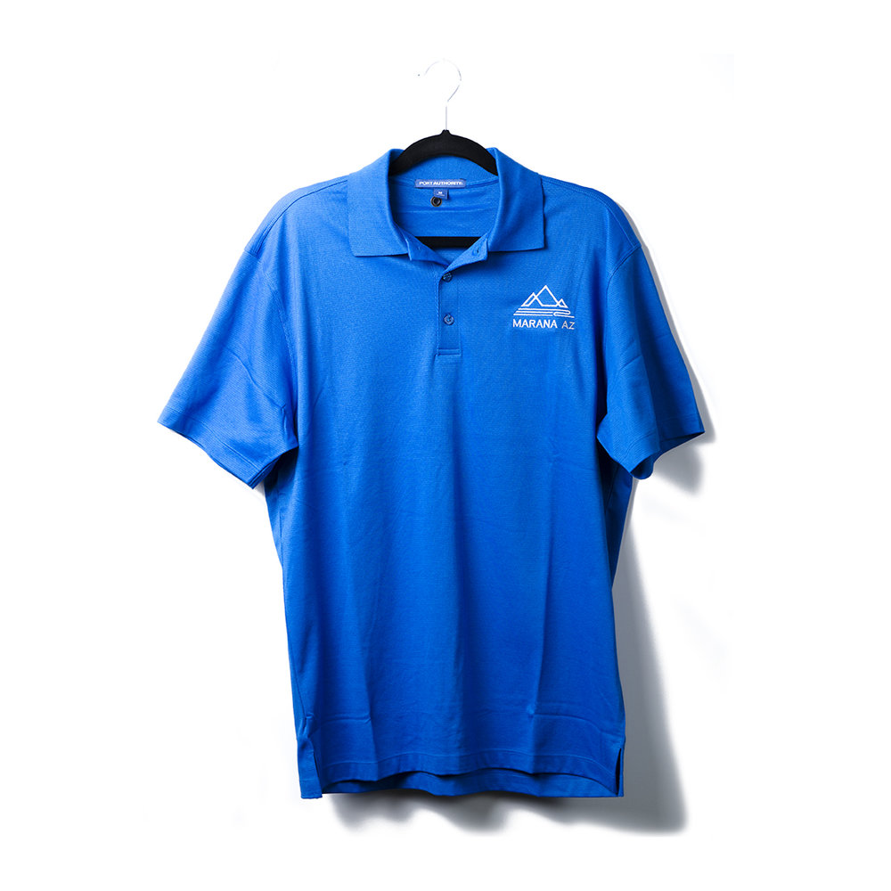 Men's Port Authority Digi Heather Performance Polo   A subtle pixelated pattern gives this snag-resistant, moisture-wicking polo a look that's sophisticated enough for the office or the weekend. Created for comfort and performance, this modern polo is also a smart value.