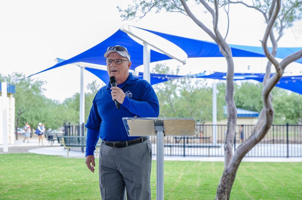 Marana Parks & Rec Director Jim Conroy