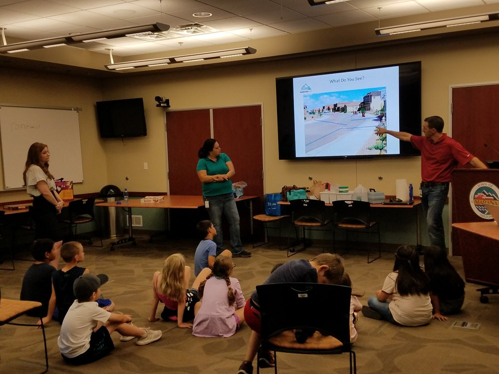 Marana Water Department gives a lecture on water conservation