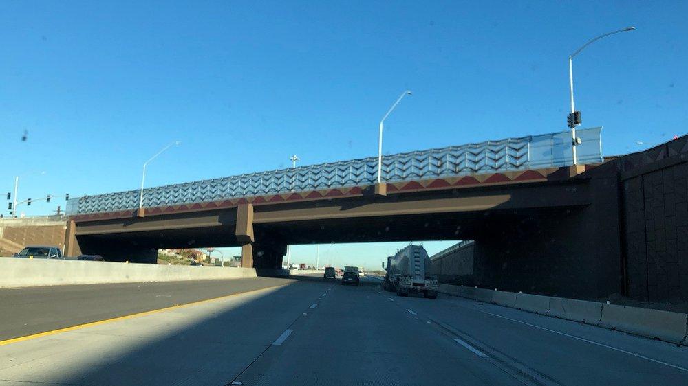 Ina Road Bridge over I-10 is now open.