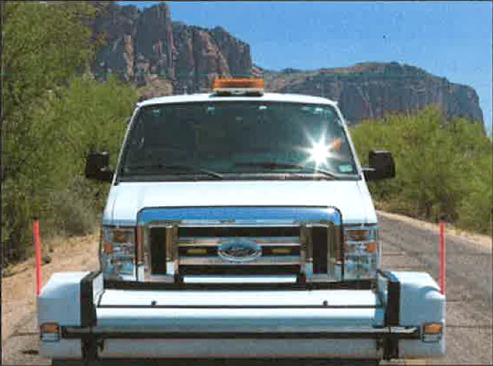 Special vans with cameras on the bumper will analyze Marana's roads.