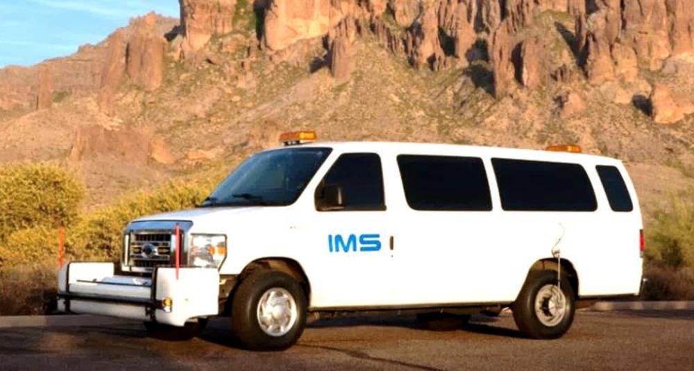 A van will help assess Marana roadways beginning Monday, March 18.