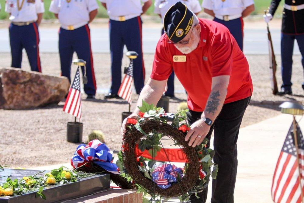 Marine Memorial at Marana Regional Airport/Photo courtesy Tucson Local Media