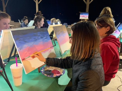 Paint Night at the Park.