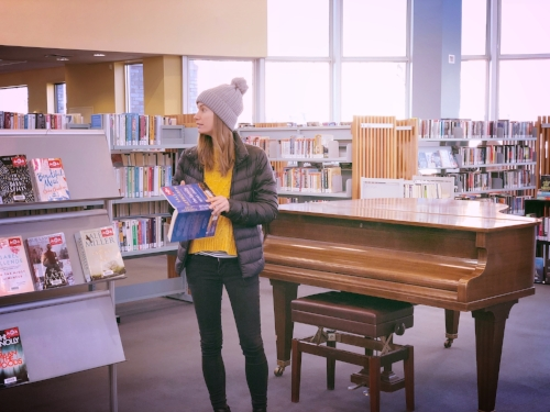 This is 'subtly' scoping a library