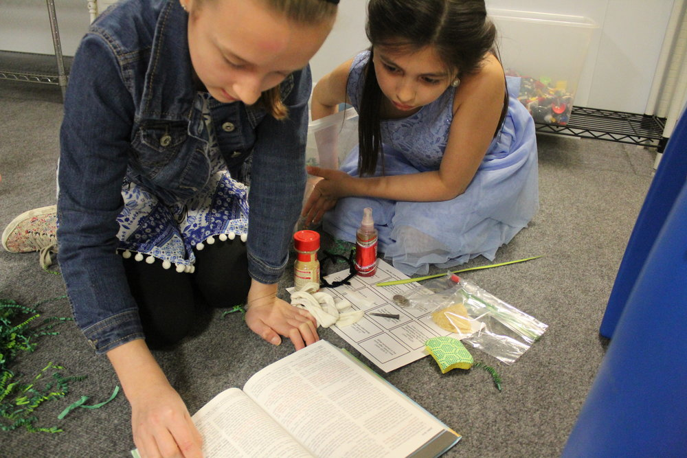Creative Bible Teaching  - We understand that all children learn differently, so we provide multiple ways for the kids to interact and connect with the teachings and stories in the Bible. We use engaging activities, the arts, games, discussions and more to help the kids apply God's word to their lives.
