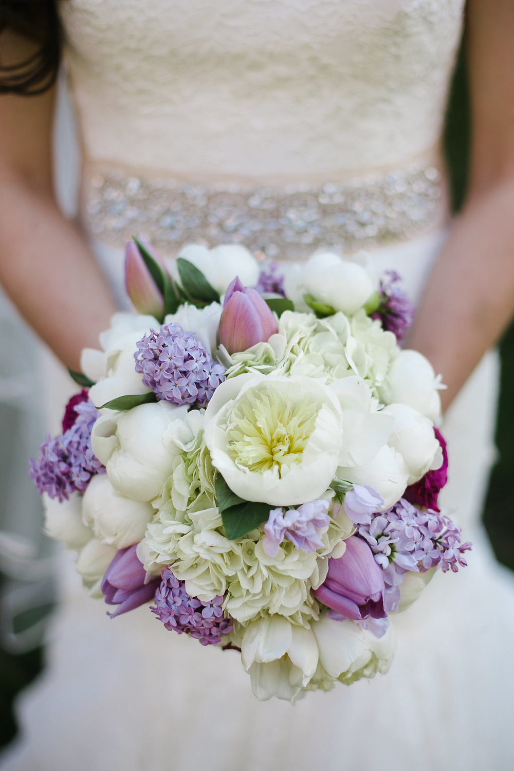 Purple and White Florals (Photo Credit: Karlo Photography)