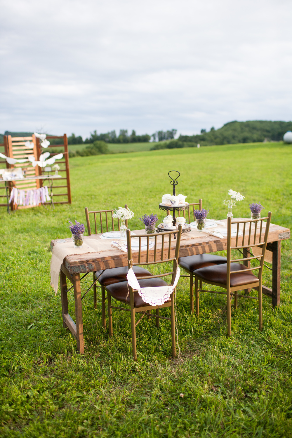 Deep Creek Lavender Farm Styled by Farmhouse Fete  Photocredit: Jessica Fike Photography