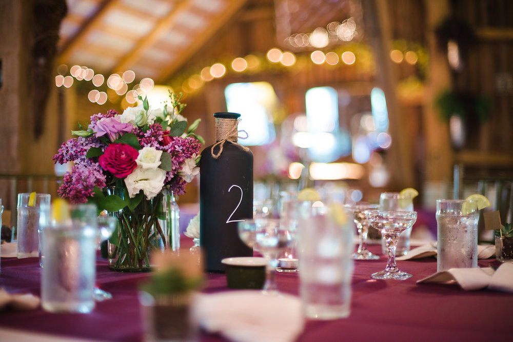 Pink and White Assorted Centerpiece (Photo Credit:  Karlo Photography)