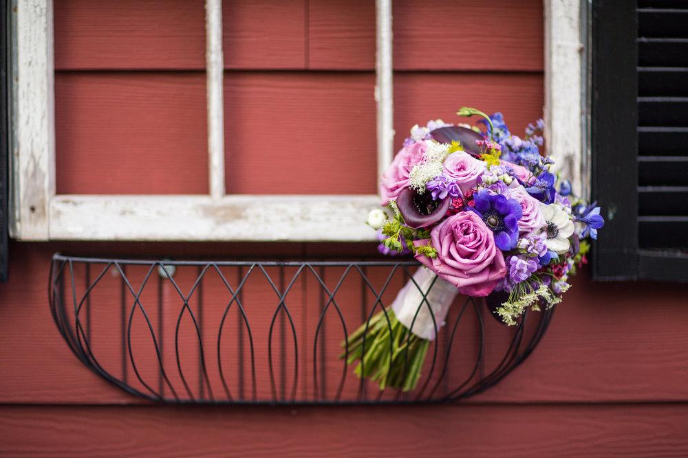 Purple Assortment Bouquet (KayPea Photography)