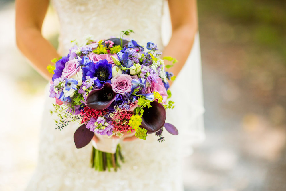 Purple Calla Lily Assortment Bouquet (Photo Credit: KayPea Photography)