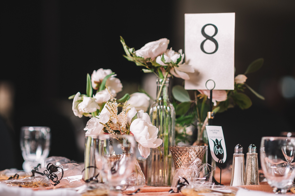 Floral Assortment (tablescape) (Photo Credit: Shannon Gray Photography)