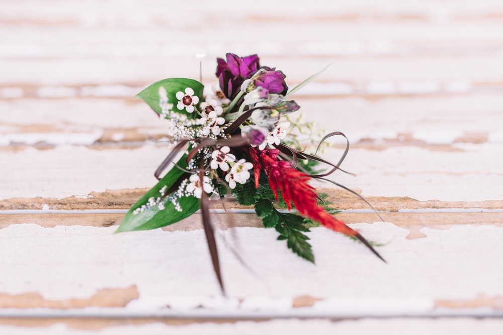 Boutonniere (Photo Credit: Shannon Gray)