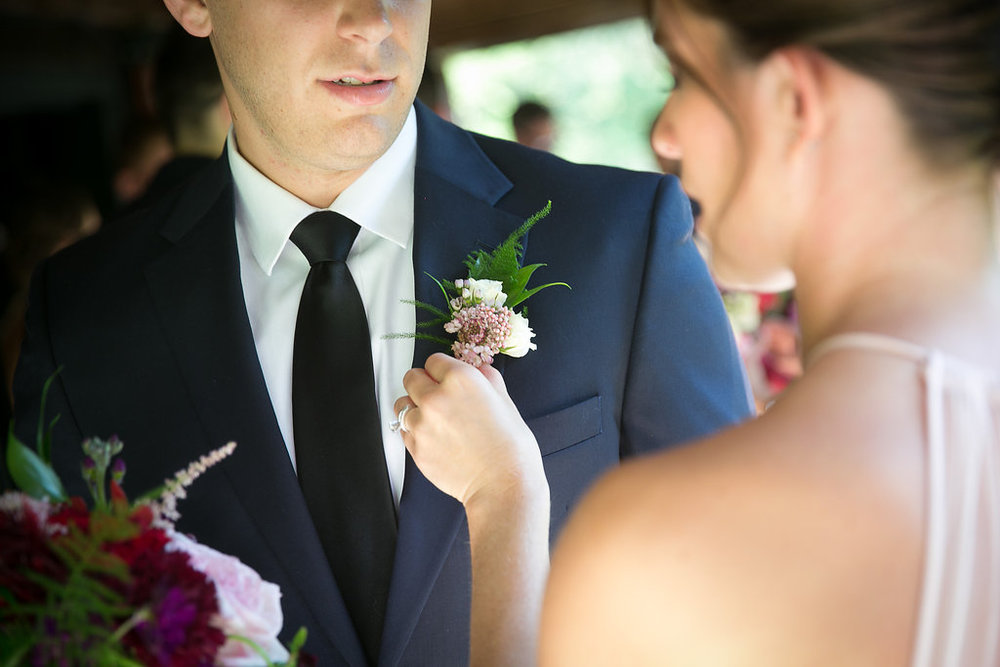 Boutonniere (Photo Credit: Karlo Photography)
