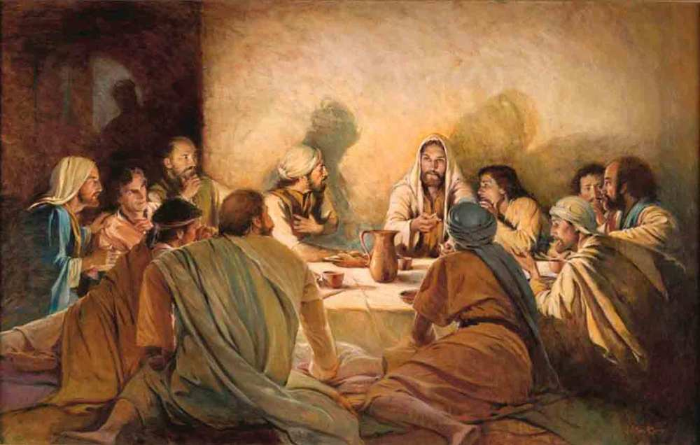 Image result for last supper prints lds walter rane