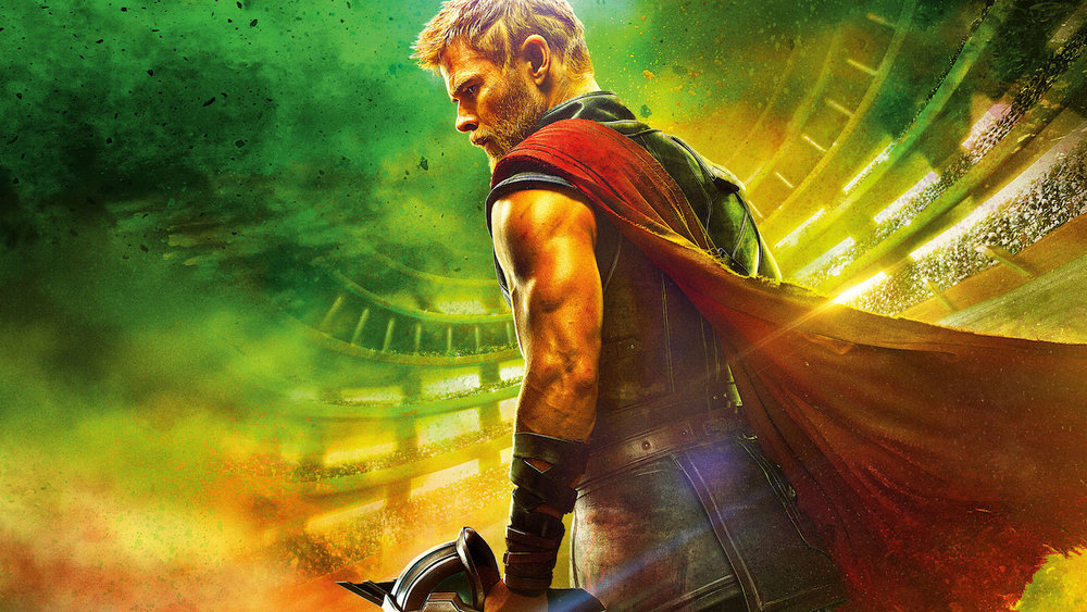Thor : Ragnarok - I had the opportunity to collaborate with Perception NYC on Marvel's latest film, Thor: Ragnarok. We teamed up on a portion of the film where Thor's character interacts with a large, 3D painted mural come to life.