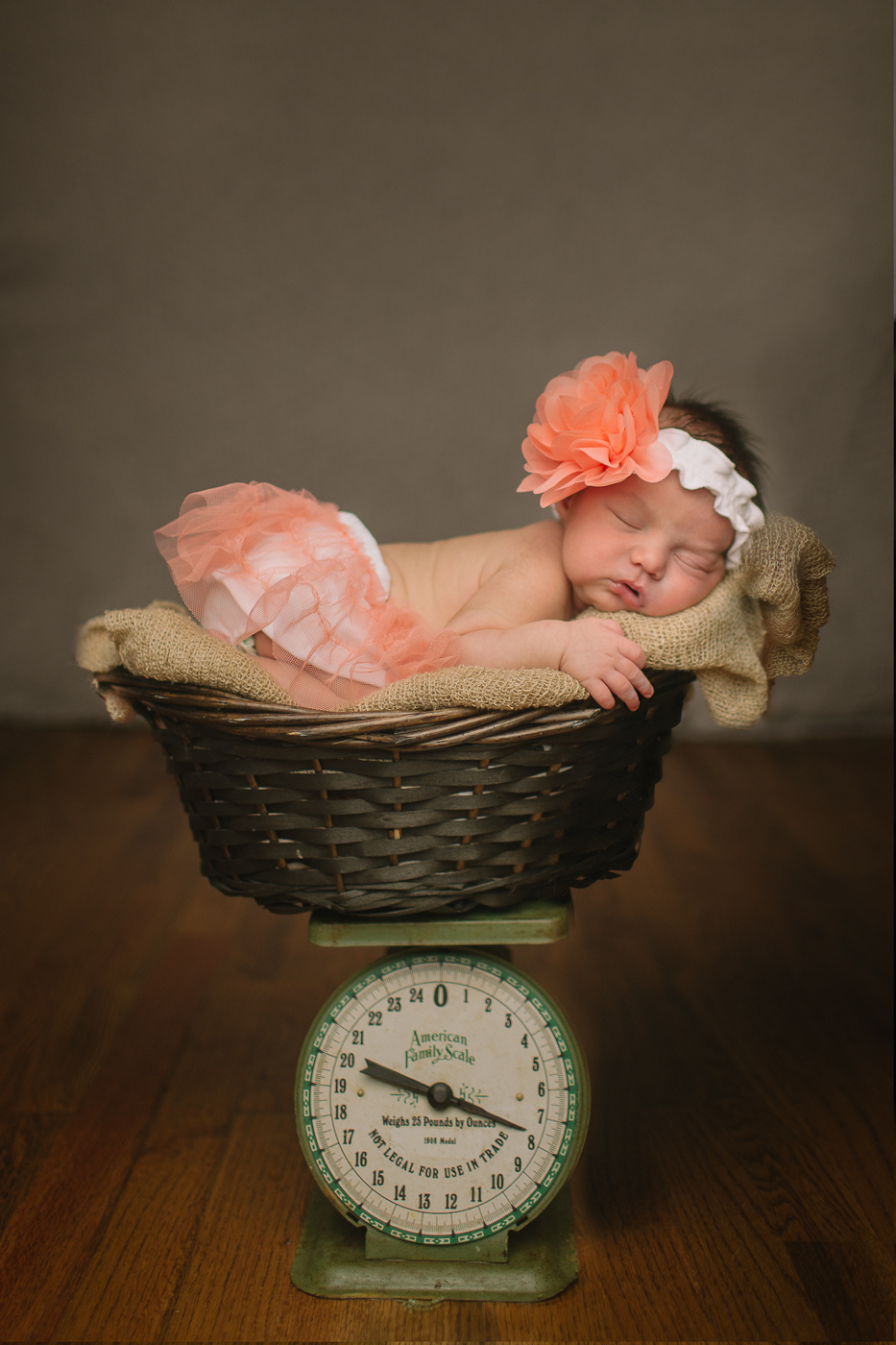 Knoxville Newborn - Zoey