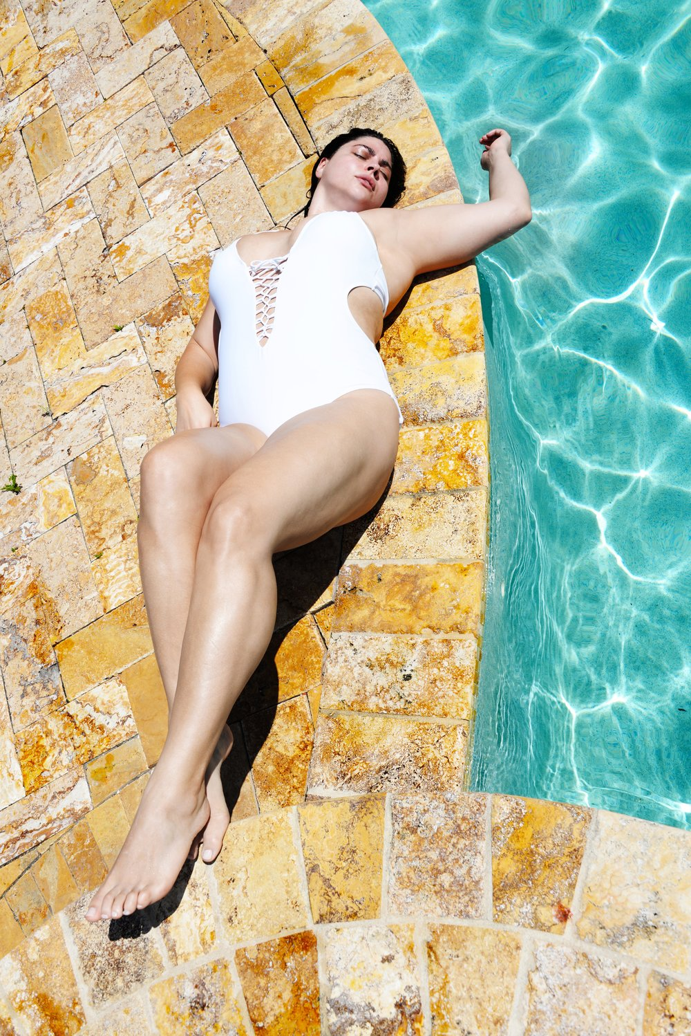 Swimsuit from  Ashley Graham x Swimsuits for All , photo by  Will Shreve