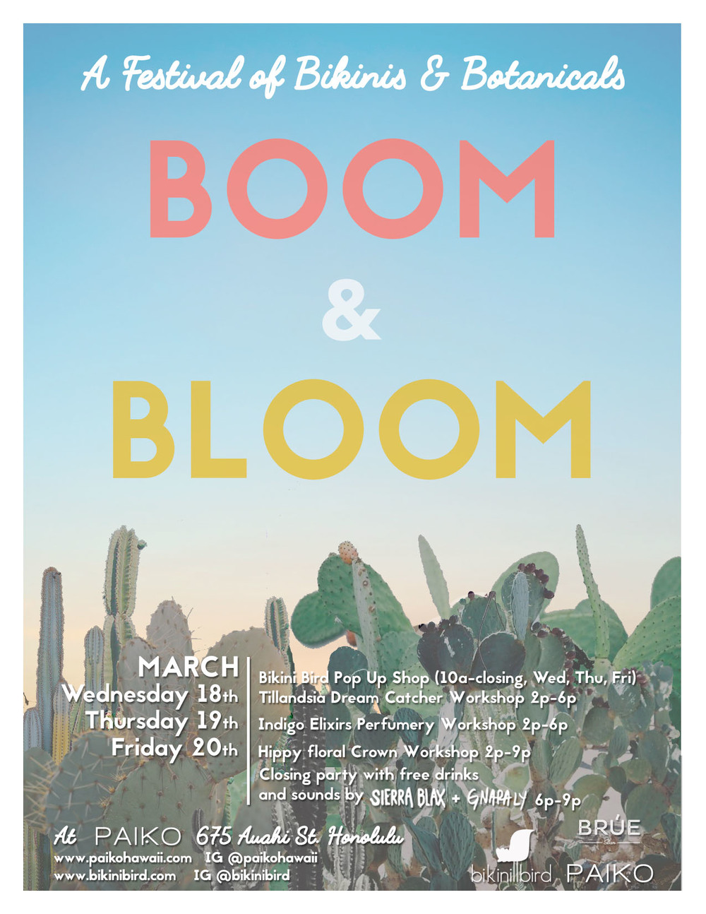 paiko boom and bloom festival